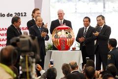 Nieuwe de autoinstallatie van Nissan in Mexico Royalty-vrije Stock Afbeeldingen