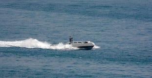 Nieuwe de hoge snelheids zeeinterceptor van de Marine van Singapore royalty-vrije stock afbeeldingen