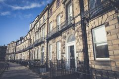 Nieuwe de Stadsarchitectuur van Edinburgh stock afbeelding
