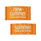 Nieuwe de zomerinzameling Royalty-vrije Stock Foto's