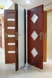 Nieuwe deuren Stock Foto's