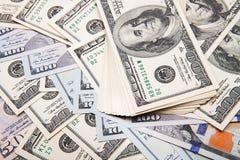 Nieuwe 100 dollarrekening Stock Afbeelding