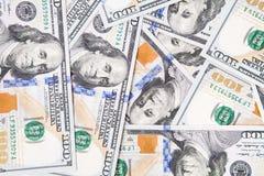 Nieuwe 100 dollarrekening Stock Foto's