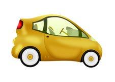 Nieuwe elektrische auto's royalty-vrije illustratie