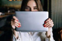 Nieuwe elektronische aankoop Moderne technologie royalty-vrije stock foto