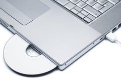 Nieuwe en moderne laptop Stock Fotografie