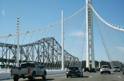 Nieuwe en oude brug Royalty-vrije Stock Foto