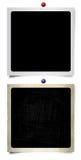Nieuwe en oude fotoframes Royalty-vrije Stock Foto's