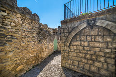 Nieuwe en oude muren Royalty-vrije Stock Afbeelding
