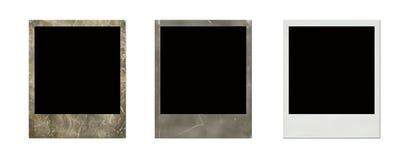 Nieuwe en oude polaroid Royalty-vrije Stock Afbeeldingen