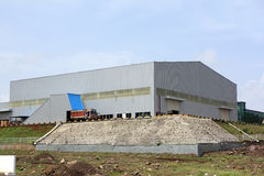 Nieuwe Fabriek Stock Foto's