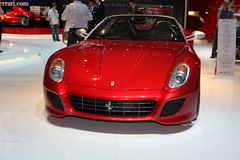 Nieuwe Ferrari 599 Royalty-vrije Stock Foto's