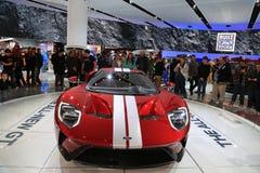 Nieuwe 2018 Ford GT supercar op Vertoning bij Noordamerikaanse Internationale Auto toont Stock Fotografie