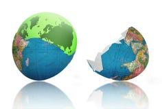 Nieuwe geboren wereld Stock Afbeelding
