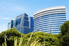 Nieuwe gebouwen stock afbeelding
