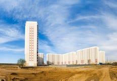 Nieuwe gebouwen Royalty-vrije Stock Foto's