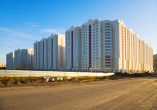 Nieuwe gebouwen Royalty-vrije Stock Afbeelding