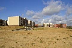 Nieuwe gebouwen in de voorstad van Moskou Stock Afbeeldingen