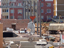 Nieuwe gebouwen Lipetsk royalty-vrije stock fotografie