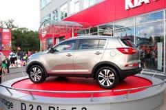 Nieuwe generatie van Kia Sportage Stock Foto