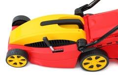 Nieuwe grasmaaimachine. Stock Afbeelding