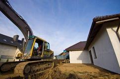 Nieuwe grond voor huistuin Stock Afbeelding