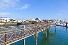 Nieuwe haven in Blanca Playa Royalty-vrije Stock Foto