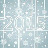 Nieuwe het jaarachtergrond van 2015 Royalty-vrije Stock Fotografie