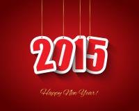 nieuwe het jaarachtergrond van 2015 Royalty-vrije Stock Afbeelding