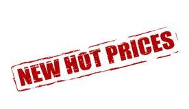 Nieuwe hete prijs vector illustratie