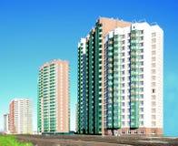 Nieuwe high-rise gebouwen, Stock Foto's