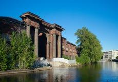 Nieuwe Holland Arch, Heilige Petersburg, Rusland Royalty-vrije Stock Foto
