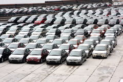 Nieuwe Hondas Royalty-vrije Stock Afbeeldingen