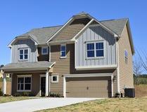 Nieuwe huisbouw Stock Afbeelding