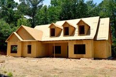 Nieuwe huisbouw in Georgië, de V.S. Stock Afbeelding