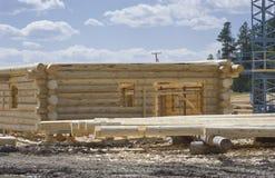 Nieuwe huisbouwwerf royalty-vrije stock fotografie