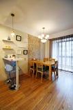 Nieuwe huisdecoratie stock fotografie