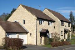 Nieuwe Huizen stock afbeeldingen