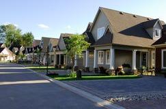 Nieuwe Huizen Royalty-vrije Stock Foto