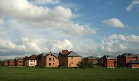 Nieuwe Huizen Stock Foto's