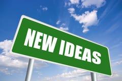 Nieuwe ideeën Stock Afbeelding