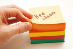 Nieuwe ideeën Stock Foto's