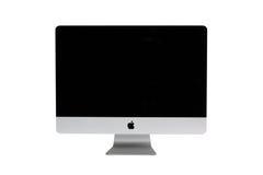 Nieuwe iMac bureaucomputer Stock Afbeelding