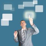 Nieuwe informatietechnologie Royalty-vrije Stock Afbeeldingen