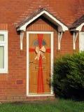 Nieuwe ingepakte deur stock afbeeldingen