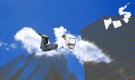 Nieuwe Internet technologie Royalty-vrije Stock Afbeeldingen