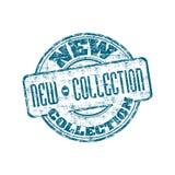 Nieuwe inzamelings rubberzegel Royalty-vrije Stock Afbeelding