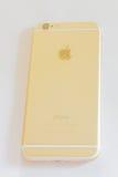 Nieuwe iPhone 6 goud Stock Afbeelding