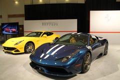 Nieuwe Italiaanse sportwagens Stock Foto