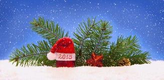 Nieuwe jaar 2015 achtergrond Royalty-vrije Stock Afbeelding